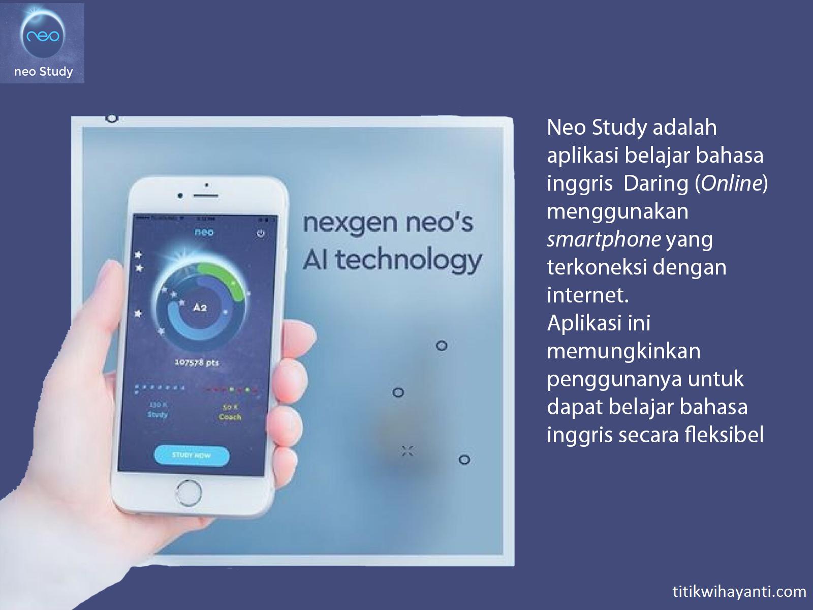 aplikasi belajar bahasa inggris efektif neo study