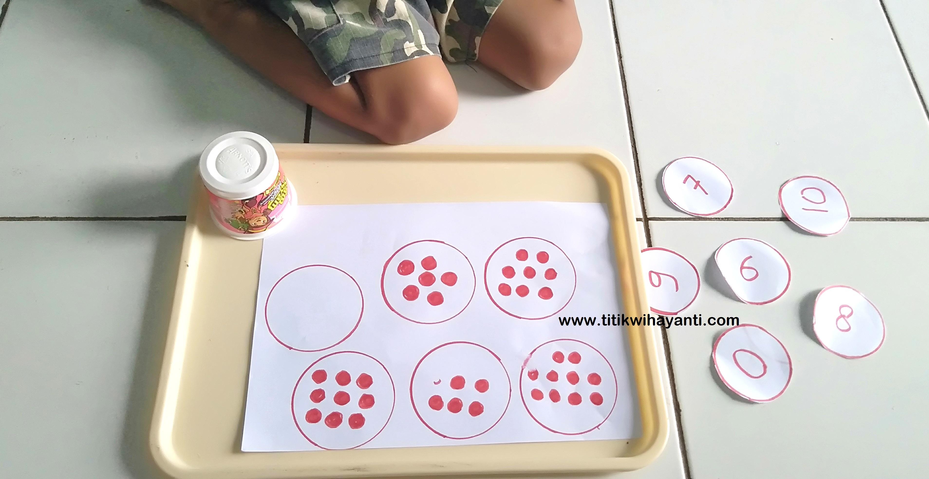 ide bermain mengenal angka