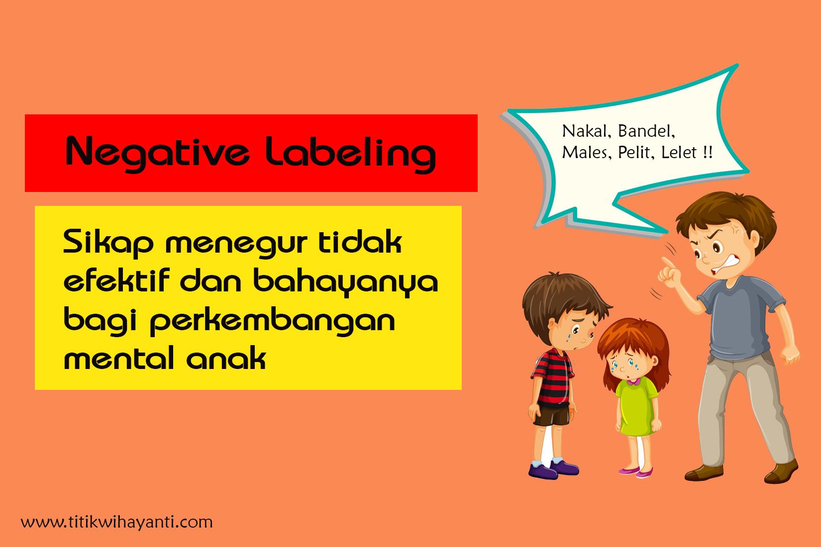labeling pada anak